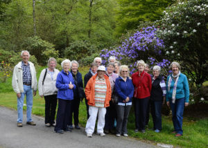 Gardening group at Corsock House