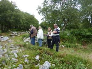 Newbarns archaeological dig