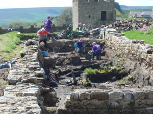 Trip to Vindolanda and Lanercost Priory